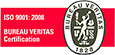 ISO 9001:2008 Bureau Veritas Certification